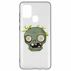 Чохол для Samsung A21s Plants vs zombie head