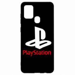 Чехол для Samsung A21s PlayStation