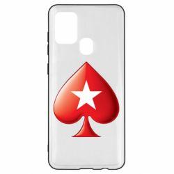 Чохол для Samsung A21s Poker Stars 3D Logo