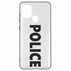 Чехол для Samsung A21s POLICE
