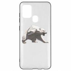 Чохол для Samsung A21s Полярний ведмідь