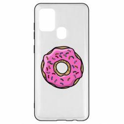 Чехол для Samsung A21s Пончик Гомера