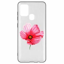 Чехол для Samsung A21s Poppy flower