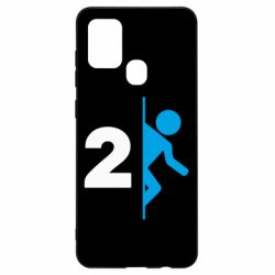 Чехол для Samsung A21s Portal 2 logo