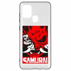 Чохол для Samsung A21s Poster samurai Cyberpunk