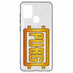 Чехол для Samsung A21s PUBG and cracks