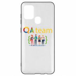 Чехол для Samsung A21s QA+TEAM