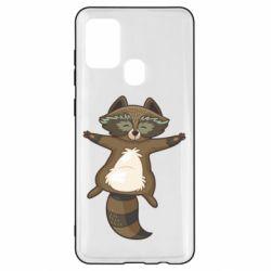 Чохол для Samsung A21s Raccoon