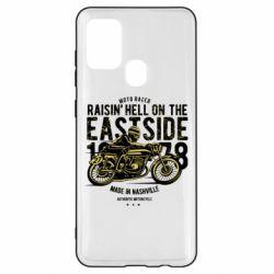 Чохол для Samsung A21s Raisin Hell Moto Racer