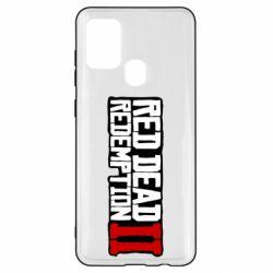 Чохол для Samsung A21s Red Dead Redemption logo