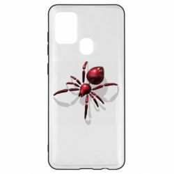Чохол для Samsung A21s Red spider