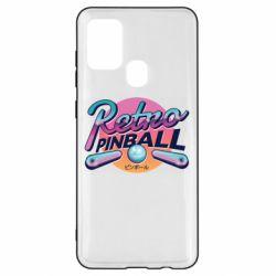 Чехол для Samsung A21s Retro pinball