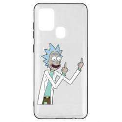 Чохол для Samsung A21s Rick and fuck vector