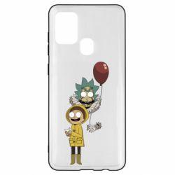 Чехол для Samsung A21s Rick and Morty: It 2