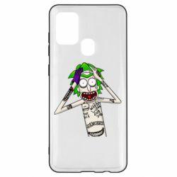 Чохол для Samsung A21s Рік і Морті образ Джокера