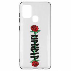 Чехол для Samsung A21s RipnDip rose