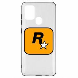 Чохол для Samsung A21s Rockstar Games logo