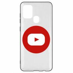 Чохол для Samsung A21s Round logo
