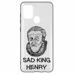 Чехол для Samsung A21s Sad king henry