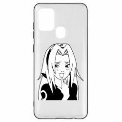 Чехол для Samsung A21s Sakura girl