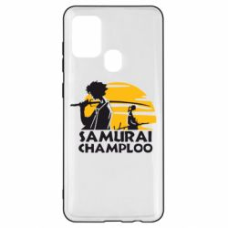 Чохол для Samsung A21s Samurai Champloo