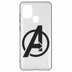 Чохол для Samsung A21s Сaptain Аmerica logo
