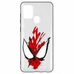 Чохол для Samsung A21s Сareless art Spiderman