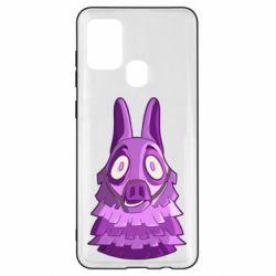 Чохол для Samsung A21s Scared llama from fortnite