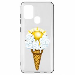Чохол для Samsung A21s Sea ice cream