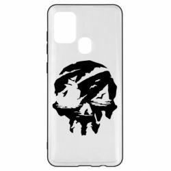 Чохол для Samsung A21s Sea of Thieves skull