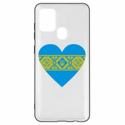 Чехол для Samsung A21s Серце України