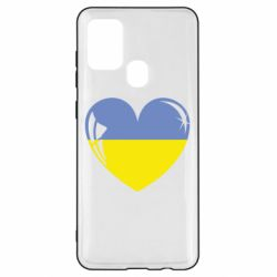 Чохол для Samsung A21s Серце України