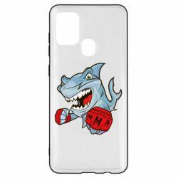 Чохол для Samsung A21s Shark MMA
