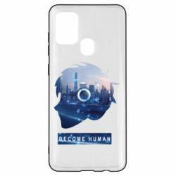 Чохол для Samsung A21s Silhouette City Detroit: Become Human