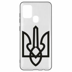 Чехол для Samsung A21s Simple coat of arms with sharp corners