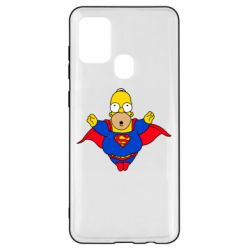 Чехол для Samsung A21s Simpson superman