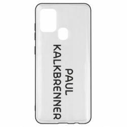 Чохол для Samsung A21s Singer Paul Kalkbrenner