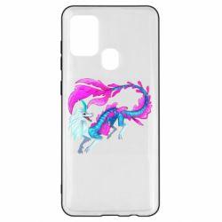 Чохол для Samsung A21s Sisu Water Dragon