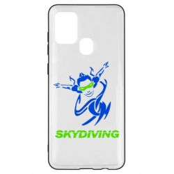 Чохол для Samsung A21s Skidiving