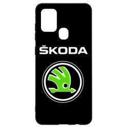 Чехол для Samsung A21s Skoda Bird