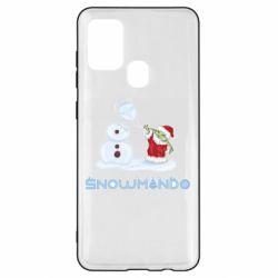 Чехол для Samsung A21s Snowmando