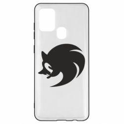 Чехол для Samsung A21s Sonic logo
