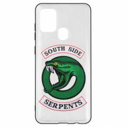 Чехол для Samsung A21s South side serpents stripe