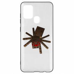 Чехол для Samsung A21s Spider from Minecraft