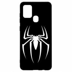 Чехол для Samsung A21s Spider Man Logo