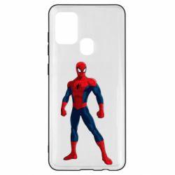 Чохол для Samsung A21s Spiderman in costume