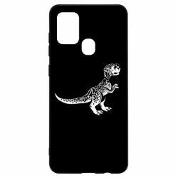 Чохол для Samsung A21s Spotted baby dinosaur