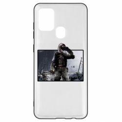 Чохол для Samsung A21s Stalker art