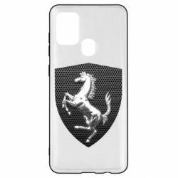 Чохол для Samsung A21s Stallion metal