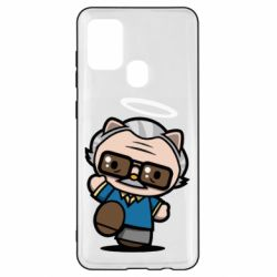 Чохол для Samsung A21s Stan lee in hello kitty style